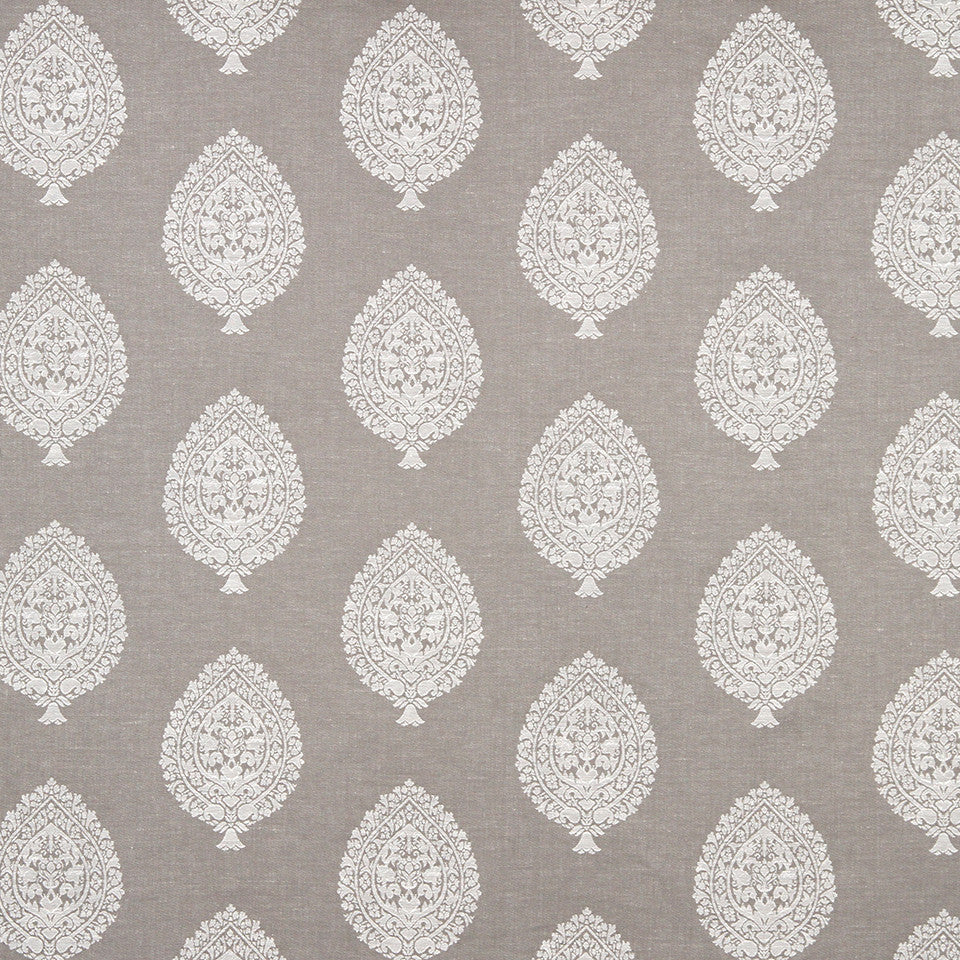 GRAIN-COBBLESTONE-SEA Asherton Fabric - Silver