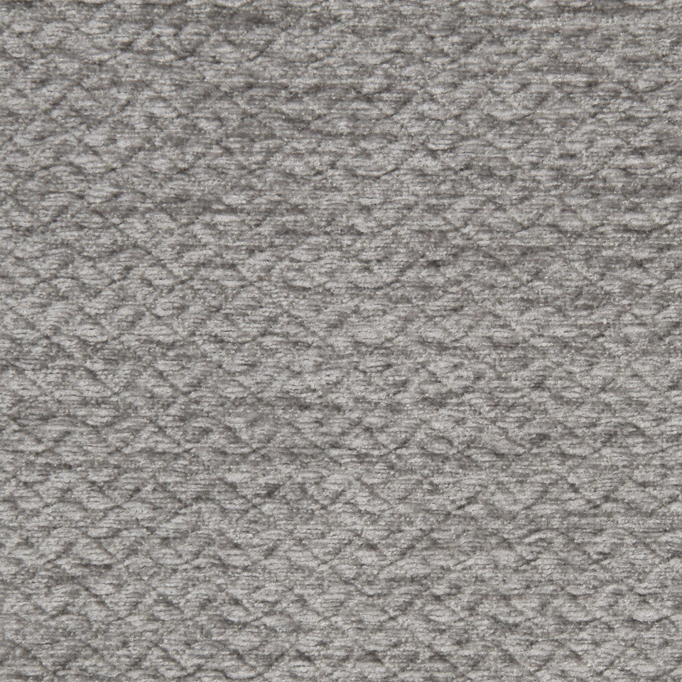SILVER Scales Fabric - Silver