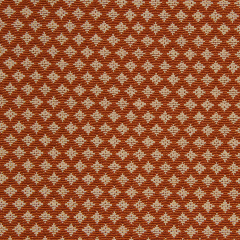 SAFFRON June Diamond Fabric - Saffron
