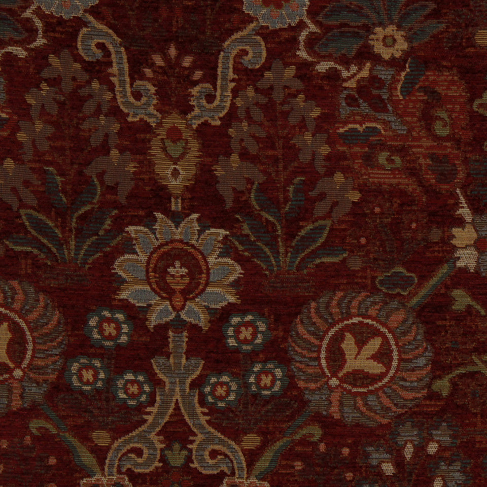 RED HOT Austwell Fabric - Red Hot