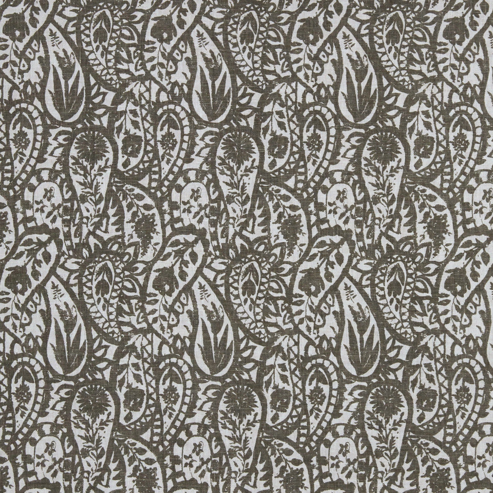 GRAPHITE-NIGHT SKY-GREYSTONE Warm Woods Fabric - Graphite