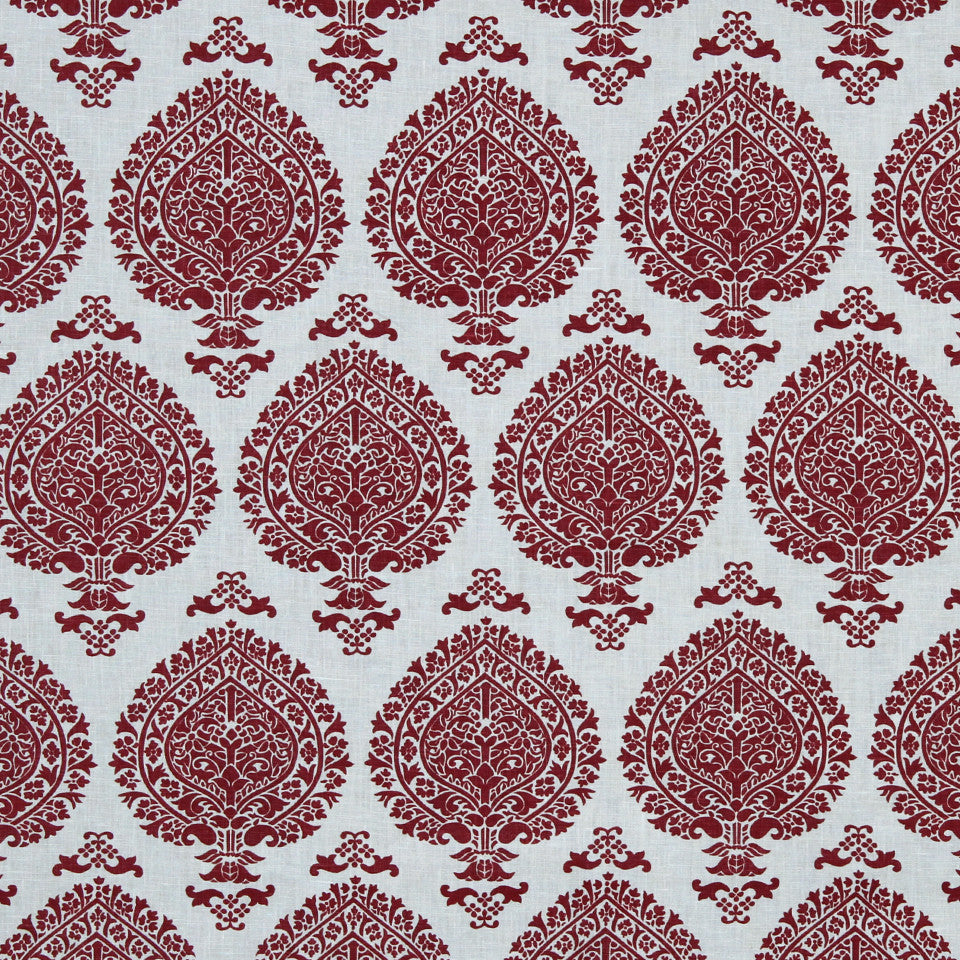 LAVA-RED HOT-GARNET Way Of Life Fabric - Red Hot