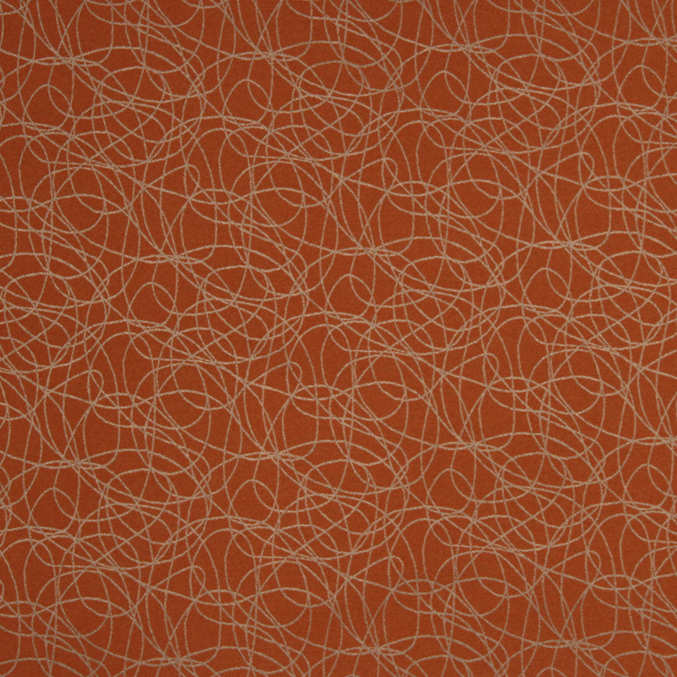 SAFFRON Out Of Orbit Fabric - Saffron