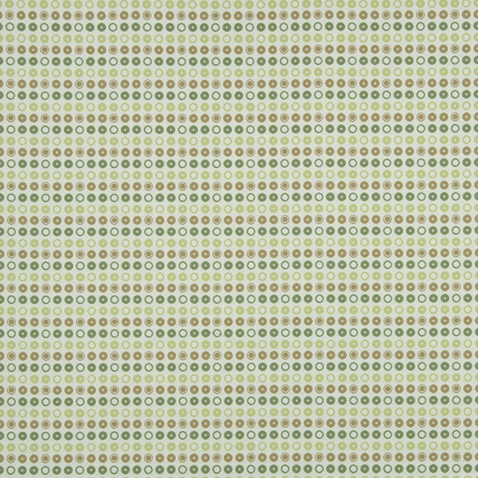 KIWI-ARTICHOKE-ZEST Drops Of Dots Fabric - Artichoke