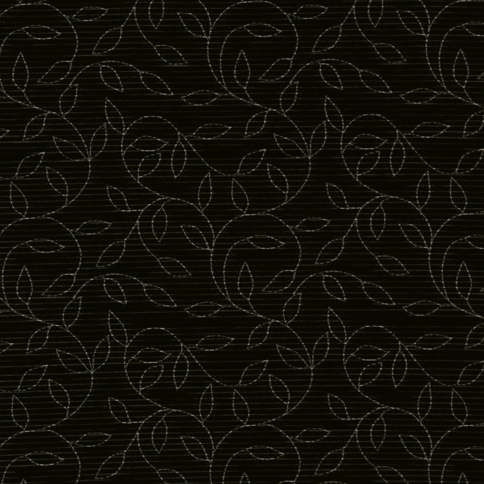 GRAPHITE-NIGHT SKY-GREYSTONE Vine Street Fabric - Night Sky