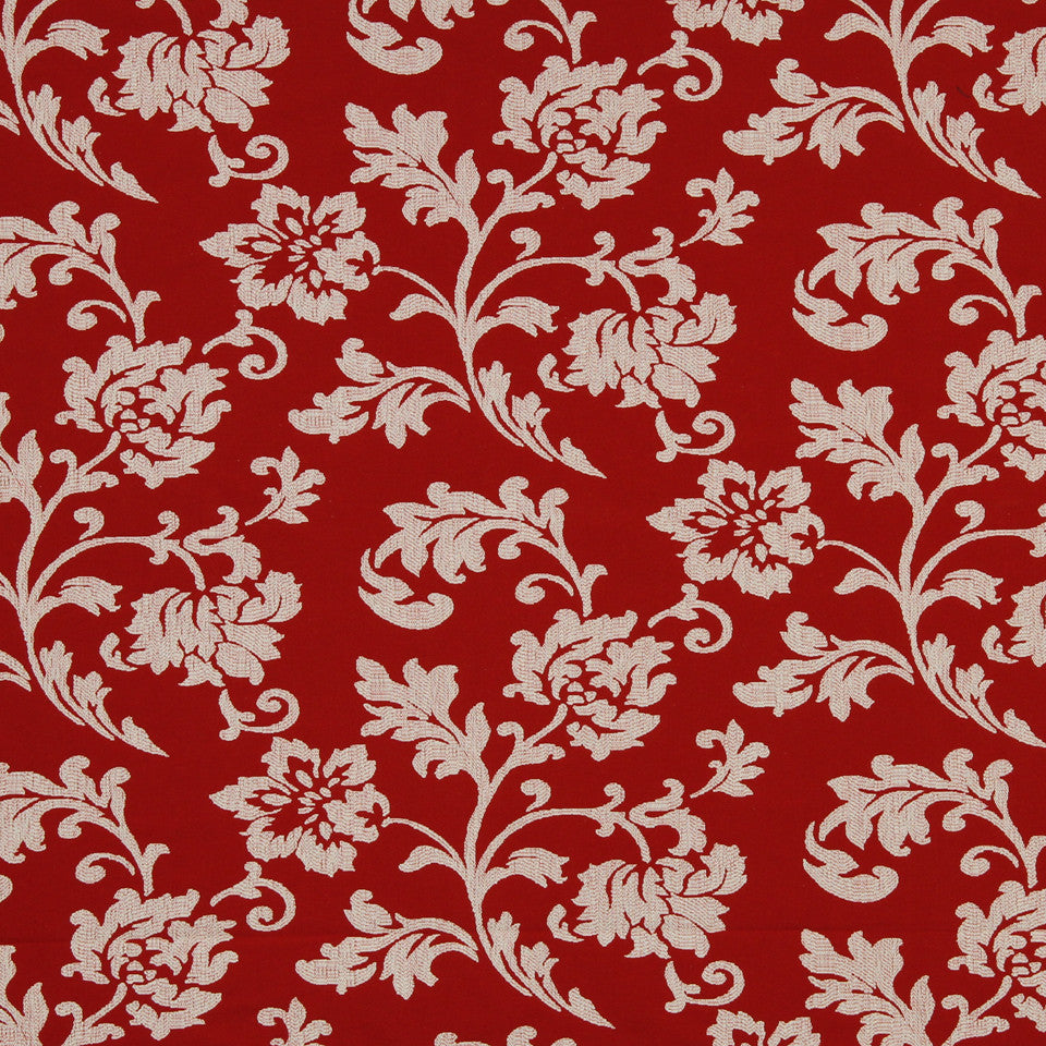 LAVA-RED HOT-GARNET Sandiway Fabric - Red Hot