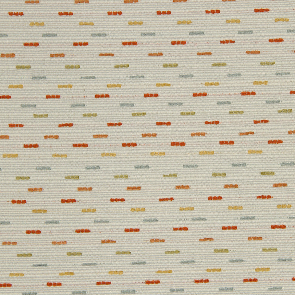 SAFFRON Dashes Fabric - Saffron