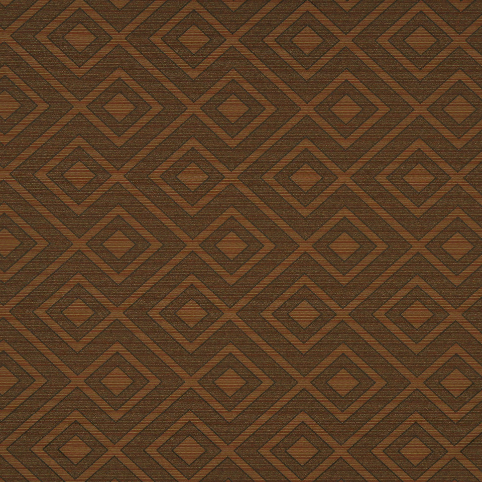 MULTI PURPOSE ECLECTIC MULTI-USE FABRICS Corner Square Fabric - Copper