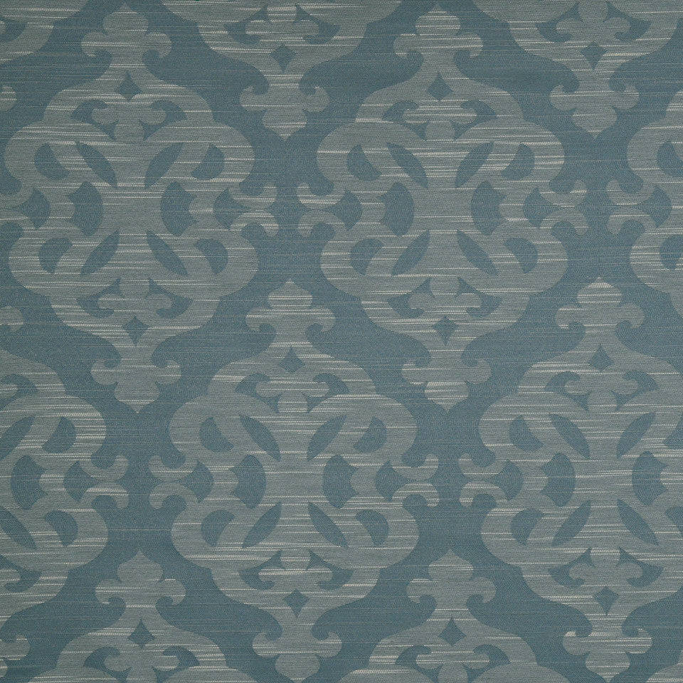 MULTI PURPOSE ECLECTIC MULTI-USE FABRICS Modern Shapes Fabric - Wedgewood