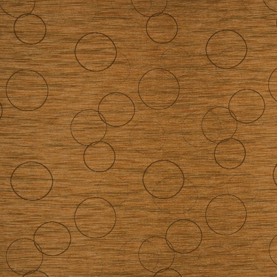 MULTI PURPOSE ECLECTIC MULTI-USE FABRICS Morning Circle Fabric - Copper