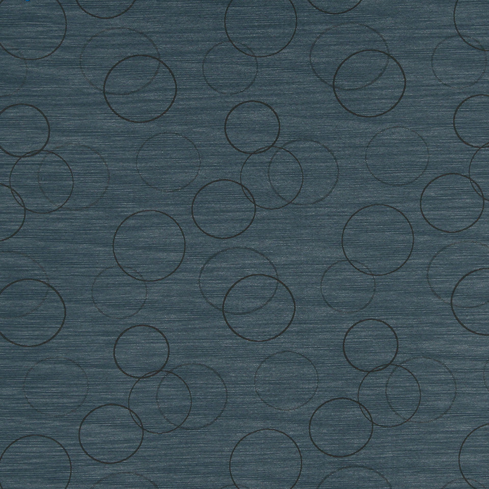 MULTI PURPOSE ECLECTIC MULTI-USE FABRICS Morning Circle Fabric - Wedgewood