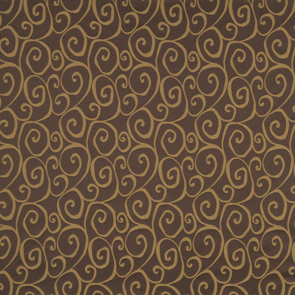 MULTI PURPOSE ECLECTIC MULTI-USE FABRICS Curvy Fabric - Aubergine