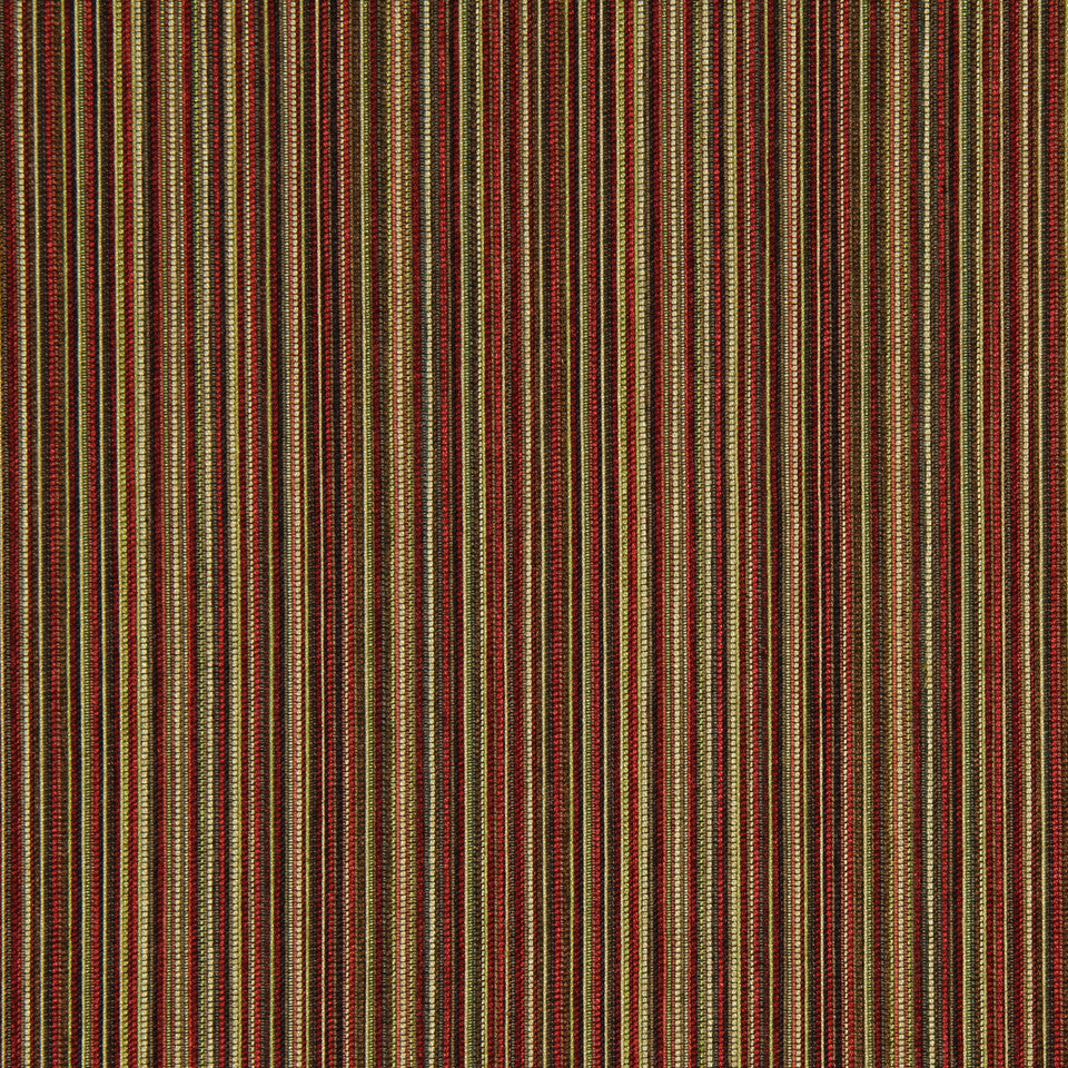 RED HOT Mellow Stripe Fabric - Red Hot