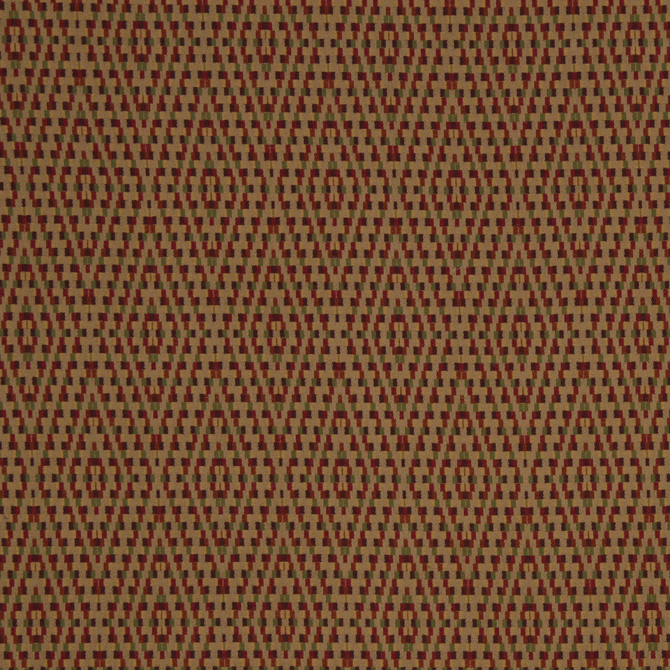 RED HOT Diamond Braid Fabric - Red Hot