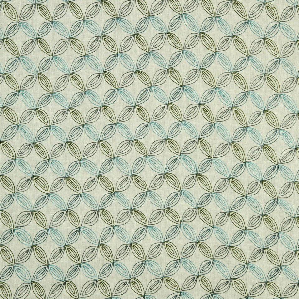 KIWI-ARTICHOKE-ZEST Ultimate Look Fabric - Kiwi