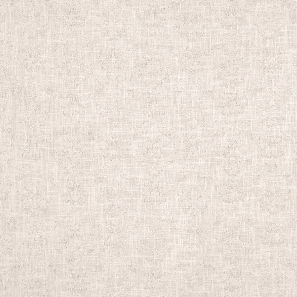 PUMICE-WHITEWASH-FLAX Wispy Woven Fabric - Meringue