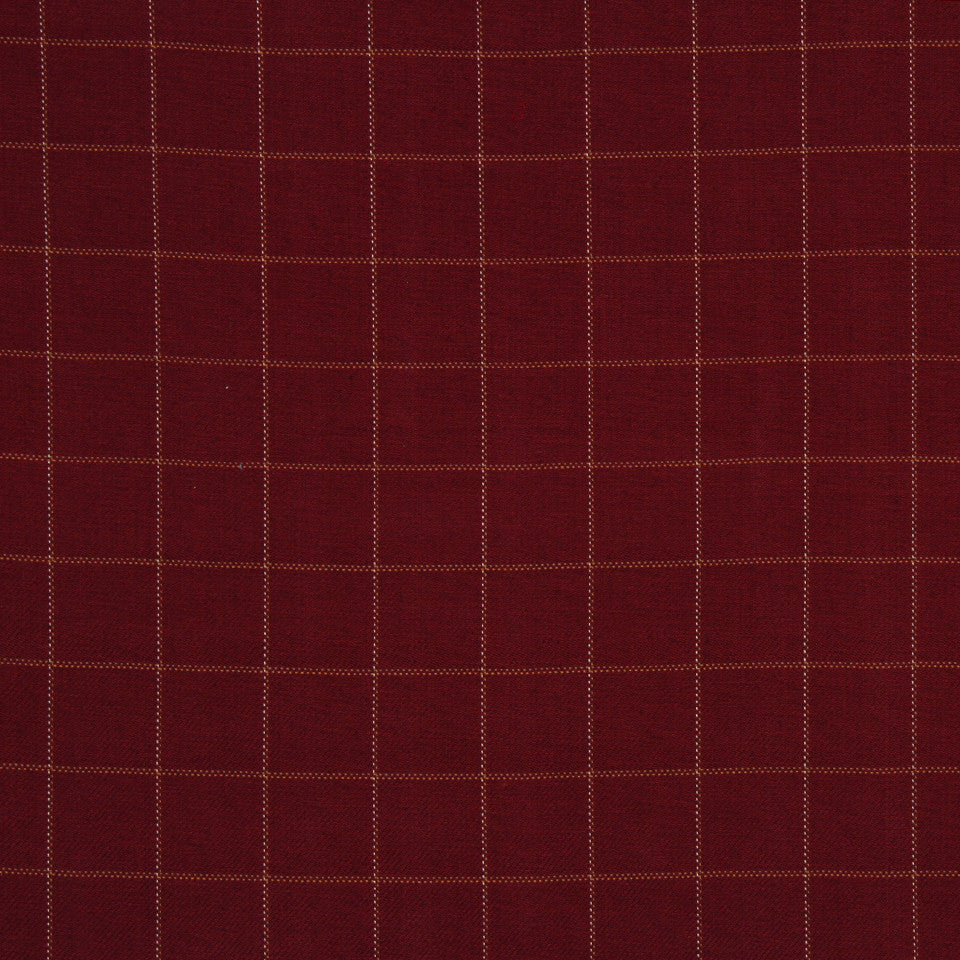 LAVA-RED HOT-GARNET Stanton Square Fabric - Lava
