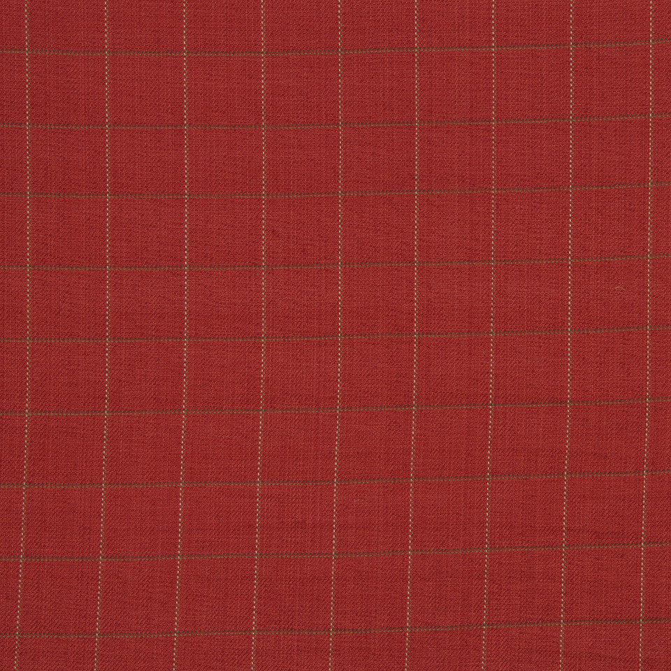 LAVA-RED HOT-GARNET Stanton Square Fabric - Garnet