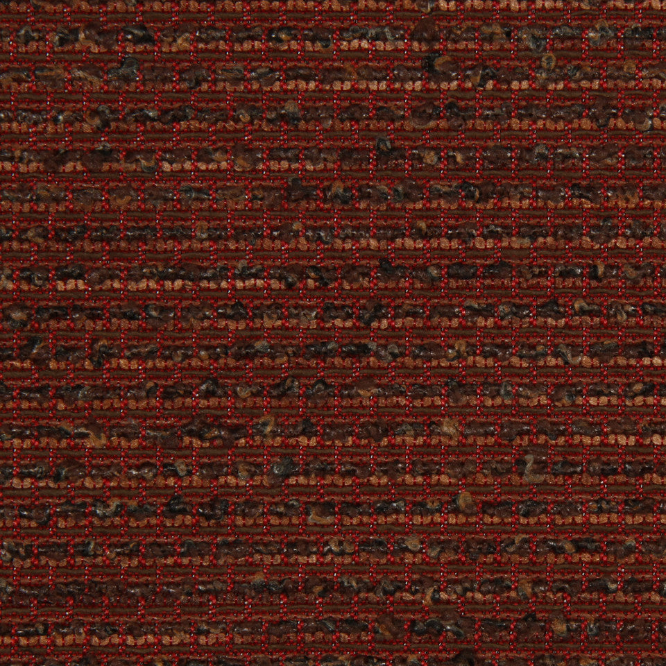 RED HOT Dayton Texture Fabric - Red Hot