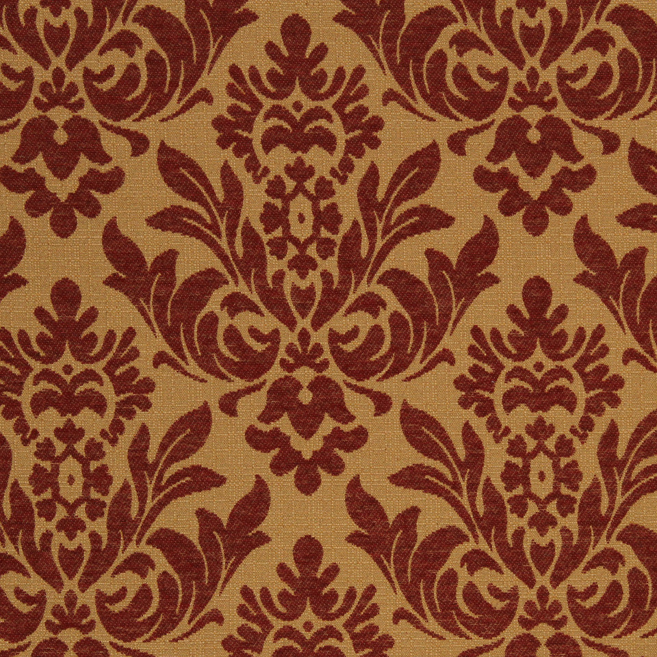 RED HOT Autumn Encore Fabric - Red Hot