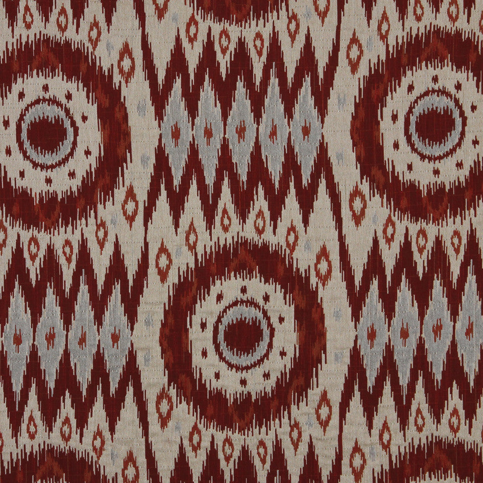 RED HOT San Benito Fabric - Red Hot