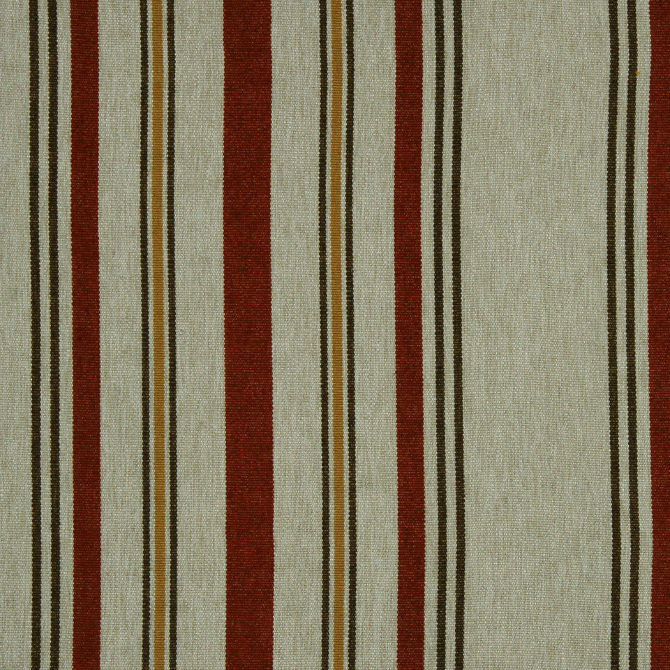 RED HOT Wood Junction Fabric - Red Hot