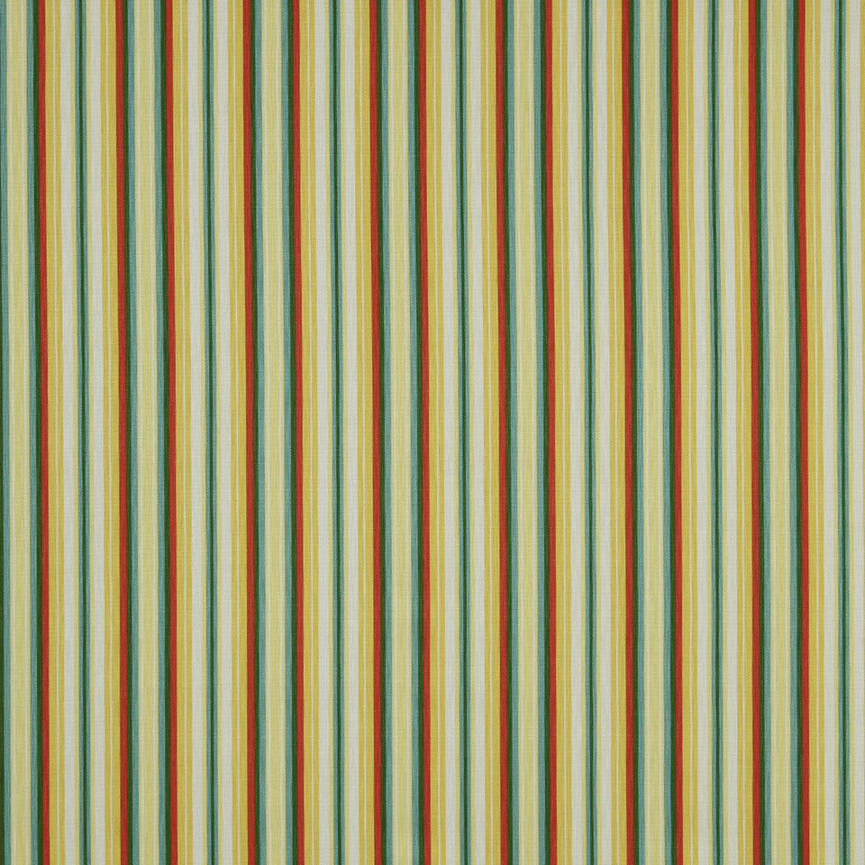 MANGO-PEONY-WATERMELON Stripes Galore Fabric - Watermelon