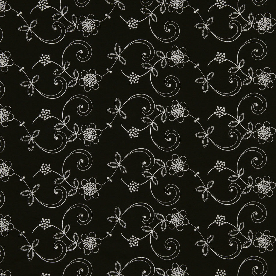 GRAPHITE-NIGHT SKY-GREYSTONE Summer Song Fabric - Night Sky