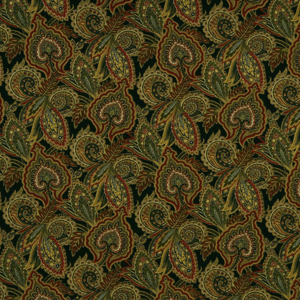 GRAPHITE-NIGHT SKY-GREYSTONE Safavid Fabric - Night Sky