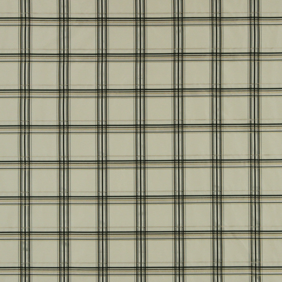 GRAPHITE-NIGHT SKY-GREYSTONE Catalina Plaid Fabric - Graphite
