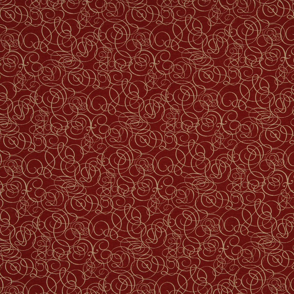 RED HOT Solar Wind Fabric - Red Hot