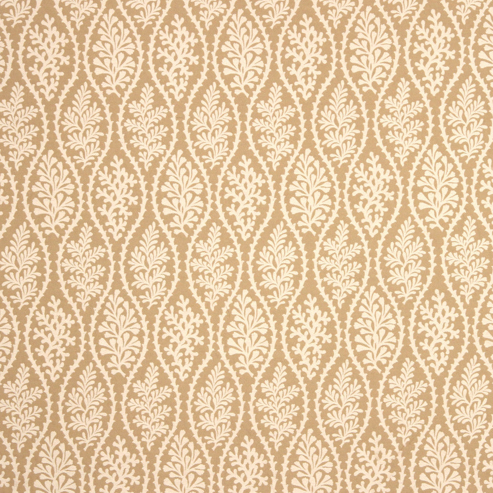 GRAIN-COBBLESTONE-SEA Cove Treasure Fabric - Dune