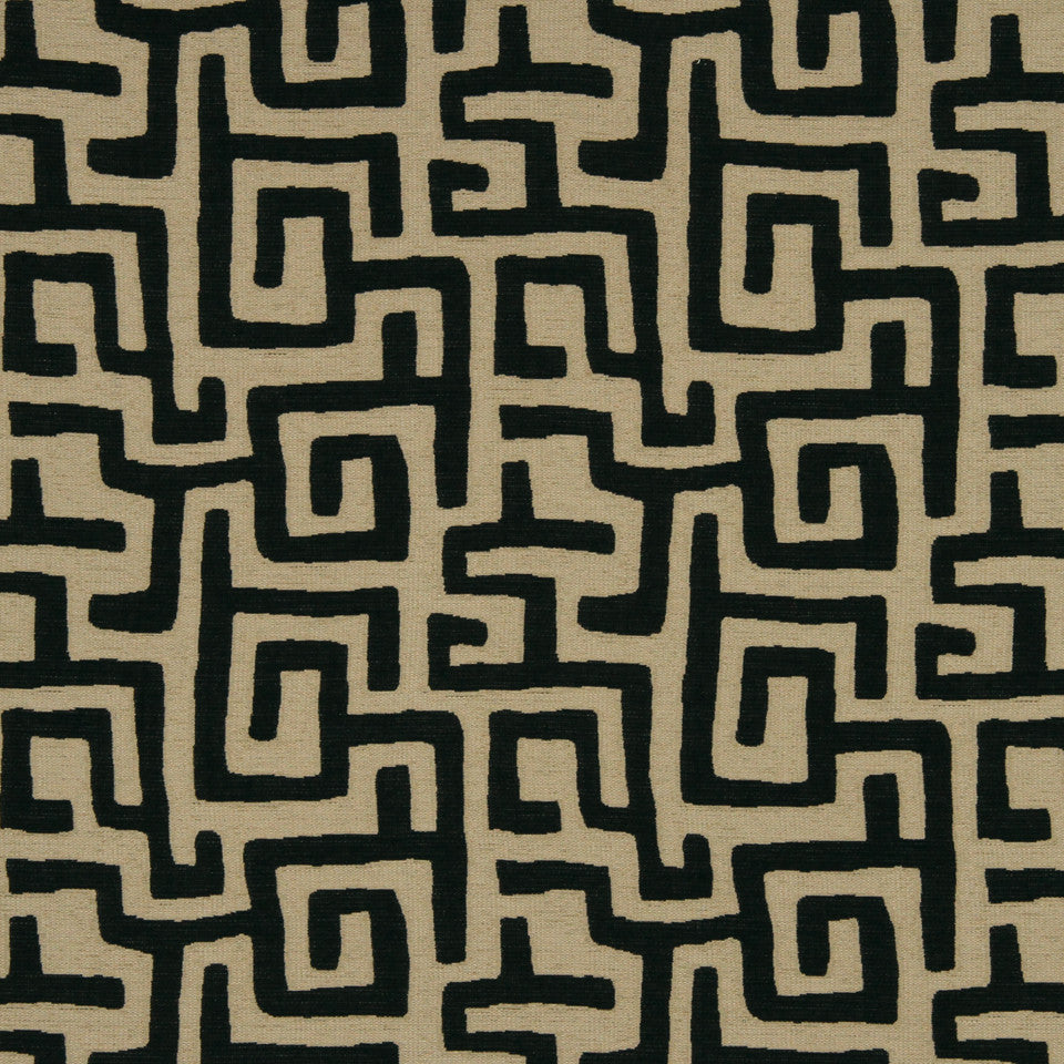 NIGHT SKY Maze Along Fabric - Night Sky