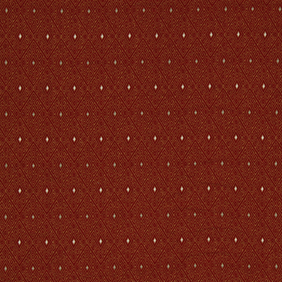 RED HOT Malholtra Fabric - Red Hot
