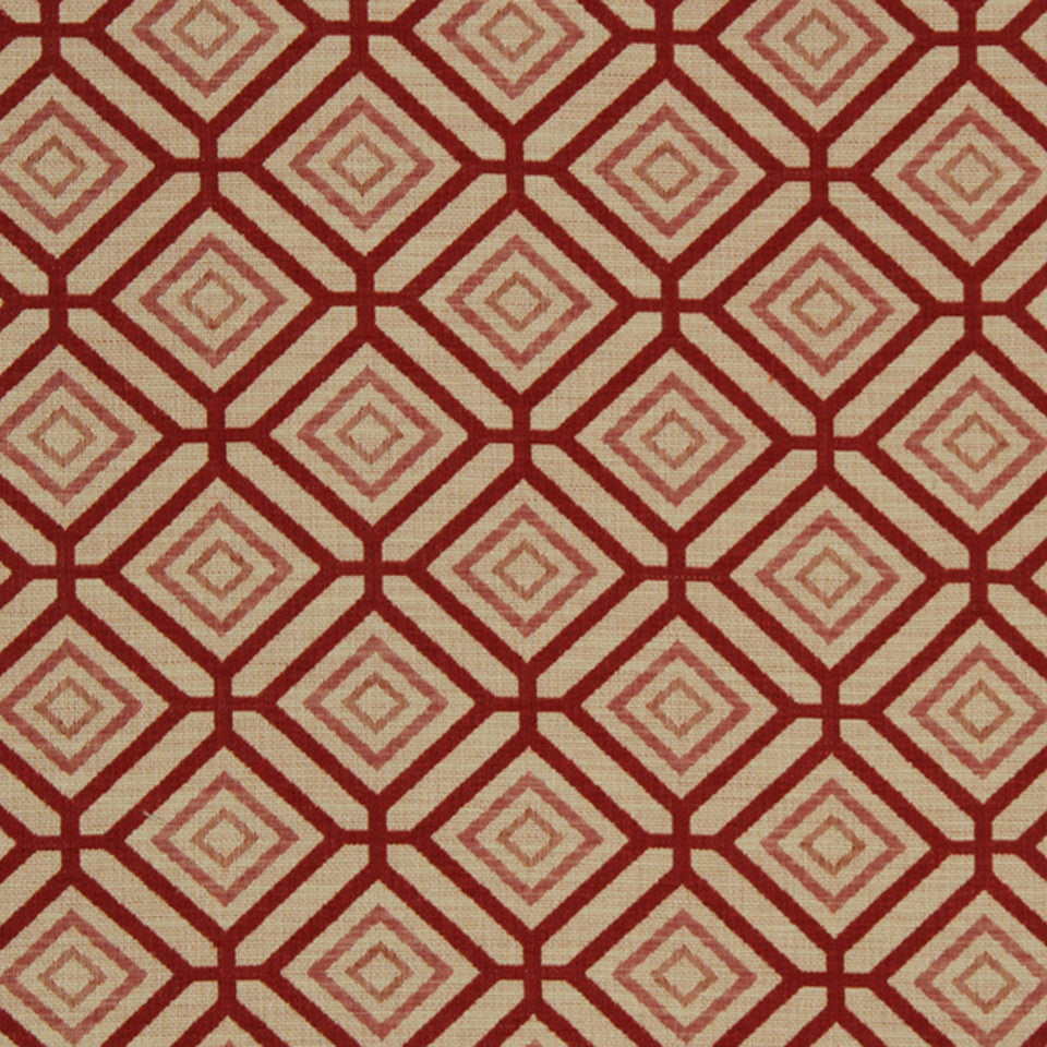RED HOT Box Cube Fabric - Red Hot