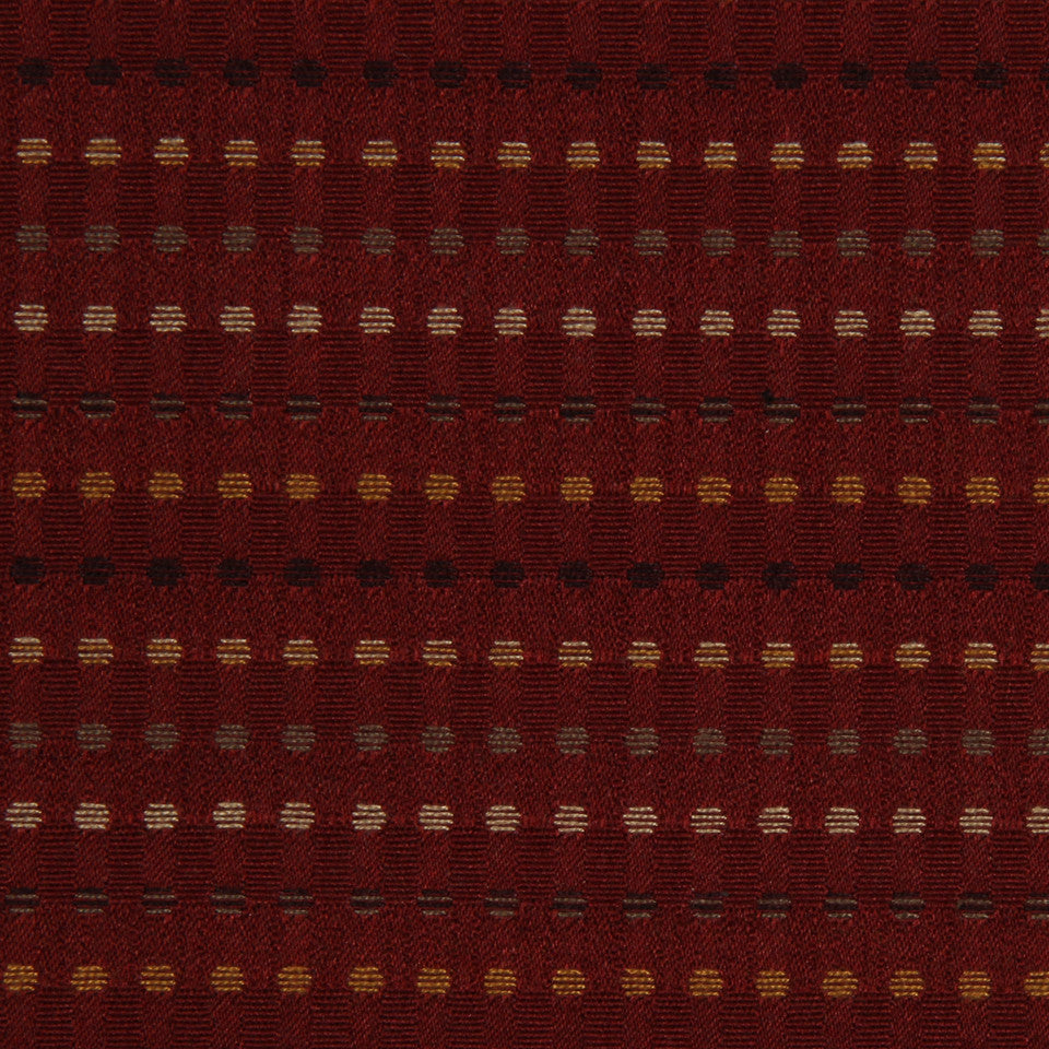 LAVA-RED HOT-GARNET Deskin Fabric - Garnet