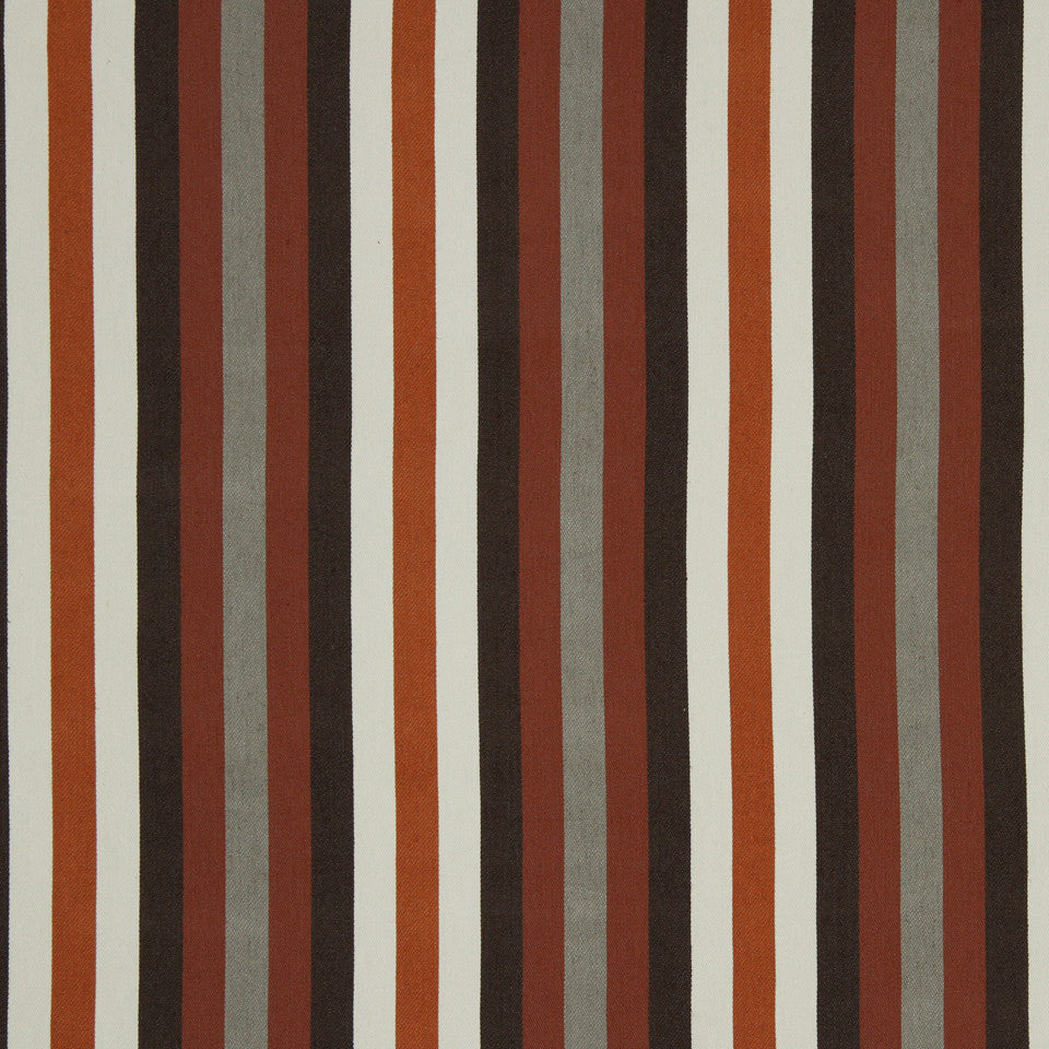 SAFFRON Endless Stripe Fabric - Saffron