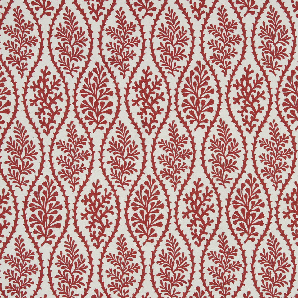 SAFFRON-AUBURN-SIENNA Cove Treasure Fabric - Saffron