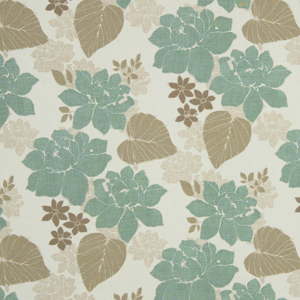 GRAIN-COBBLESTONE-SEA New Meadow Fabric - Jade