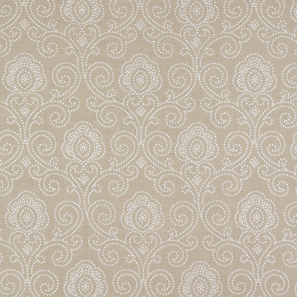 PUMICE-WHITEWASH-FLAX Metro Magic Fabric - Natural
