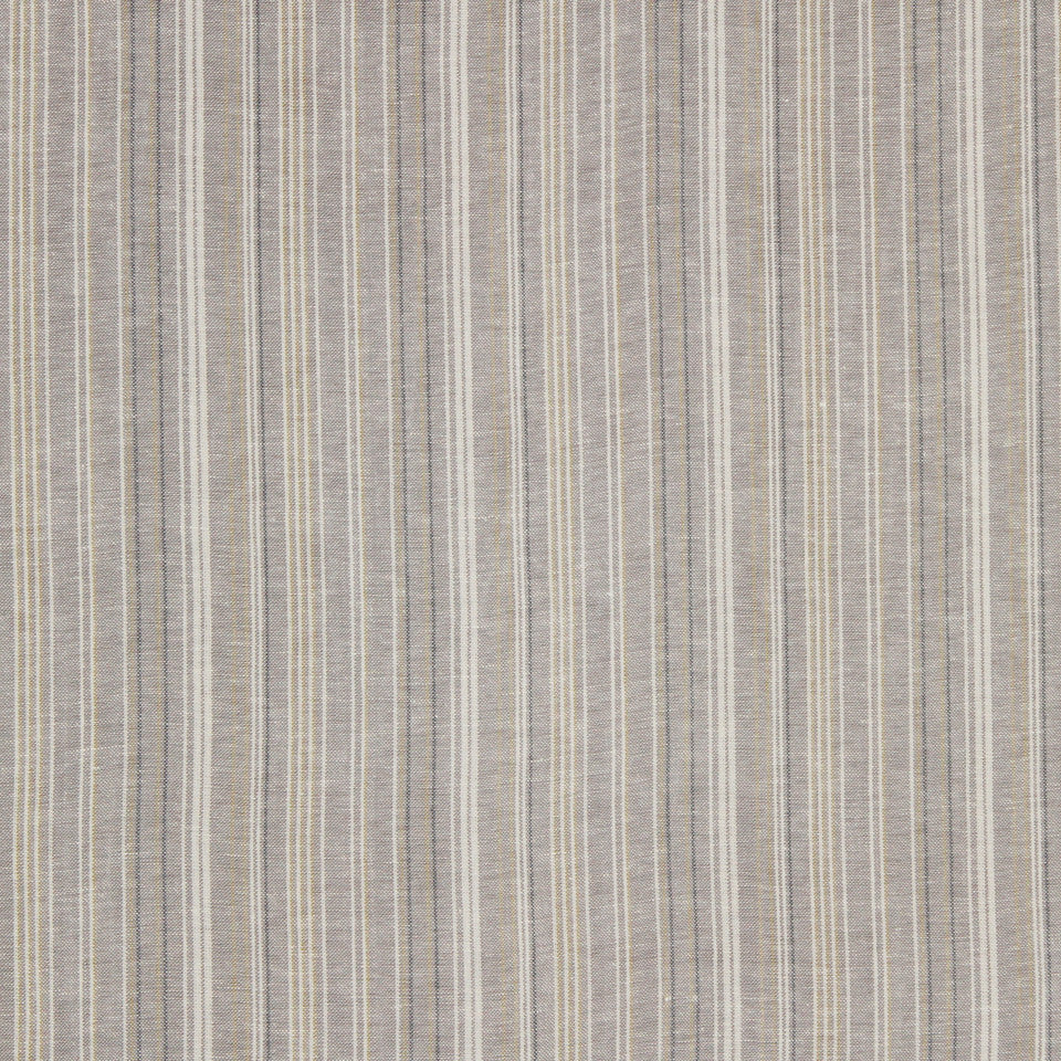 GRAIN-COBBLESTONE-SEA Cool Stripes Fabric - Seafoam