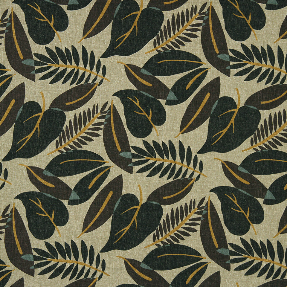 Fresh Leaf Fabric - Terrain