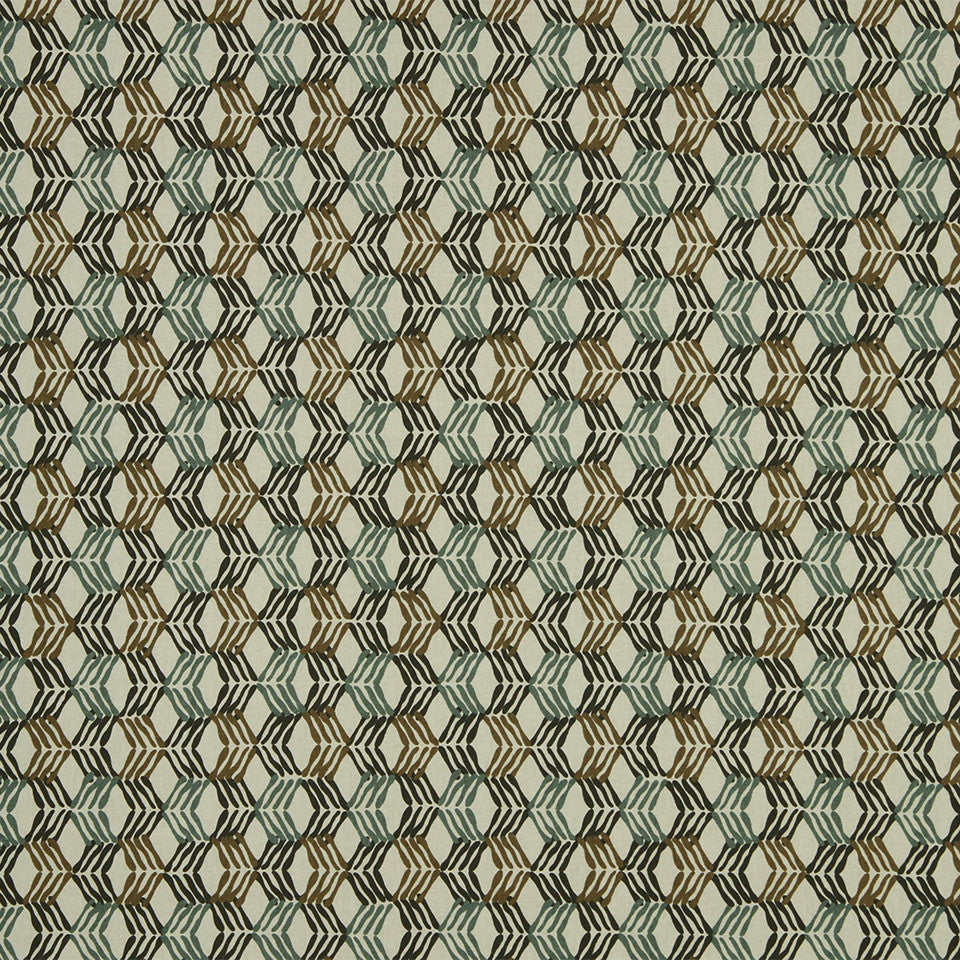 LAGOON-COVE-ALOE Chain Melody Fabric - Aloe