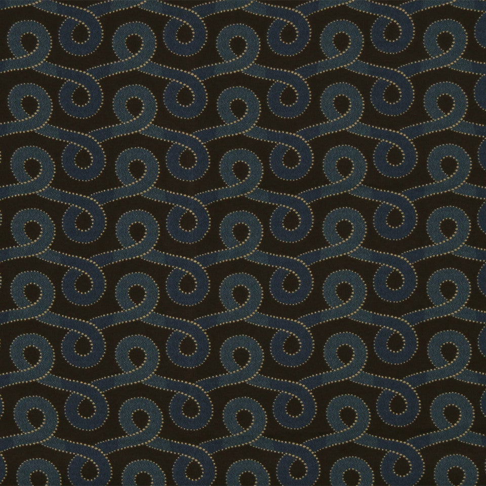 ORCHID-MANDARIN-WHIRLPOOL Graceful Swirl Fabric - Whirlpool
