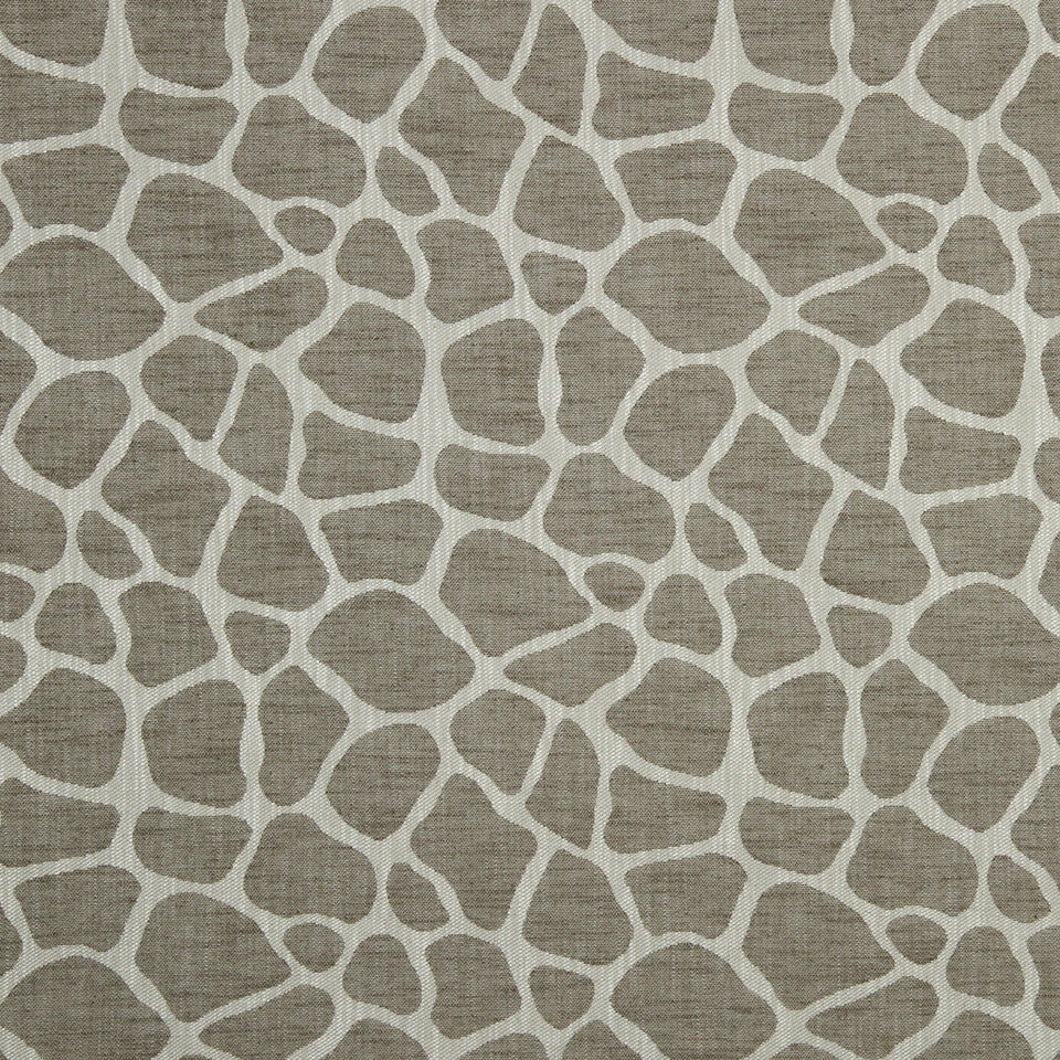 LARRY LASLO QUARTZ STONE Rocky Way Fabric - Driftwood