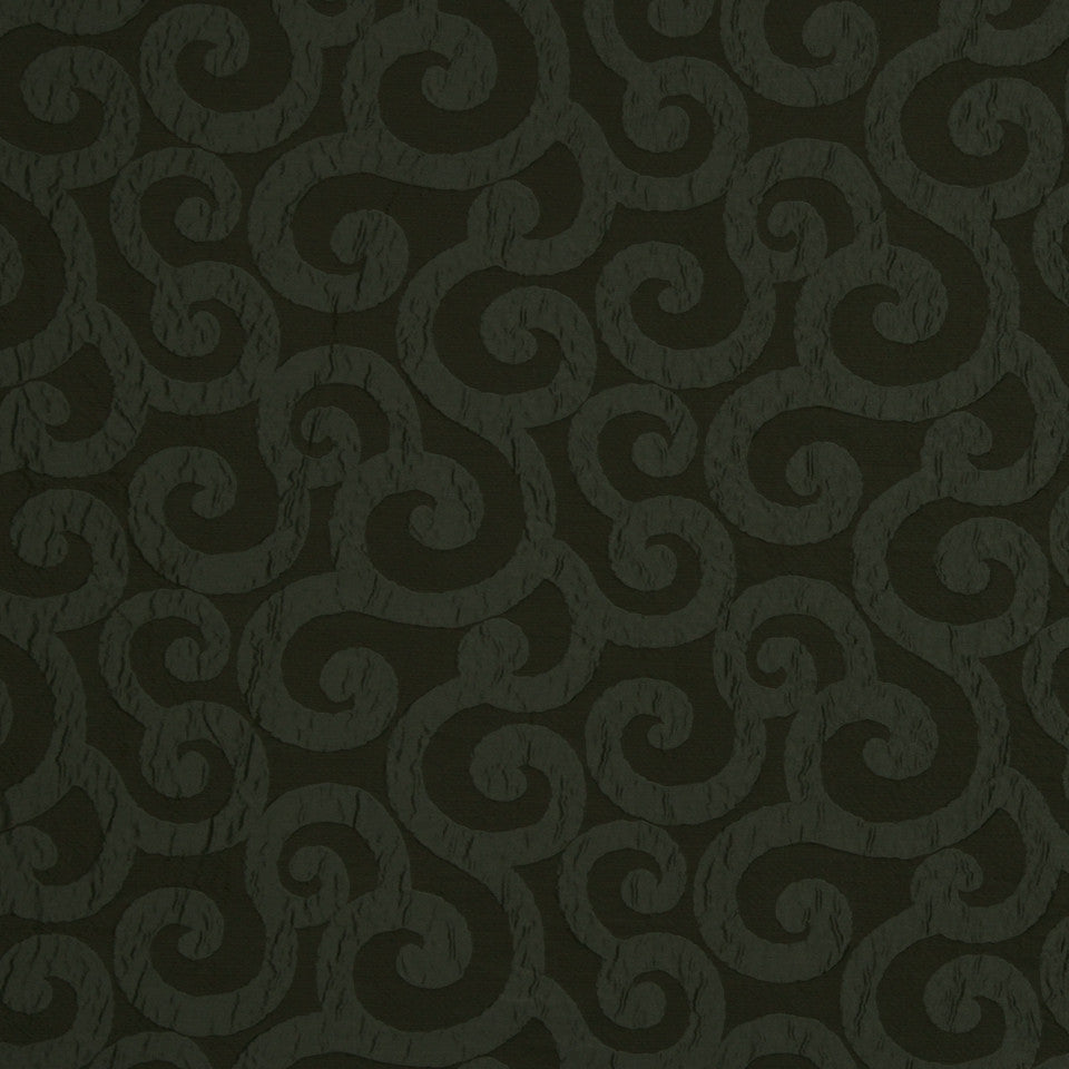 LARRY LASLO QUARTZ STONE Ratana Swirl Fabric - Pewter