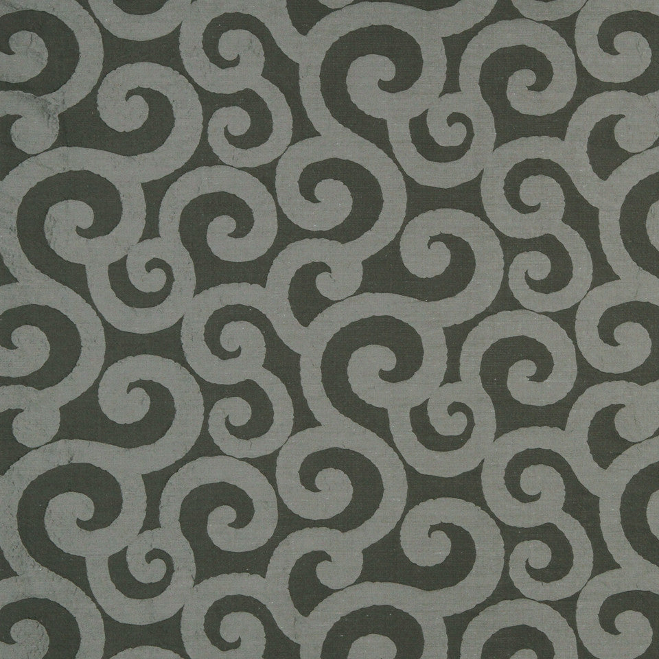 LARRY LASLO QUARTZ STONE Ratana Swirl Fabric - Nickel