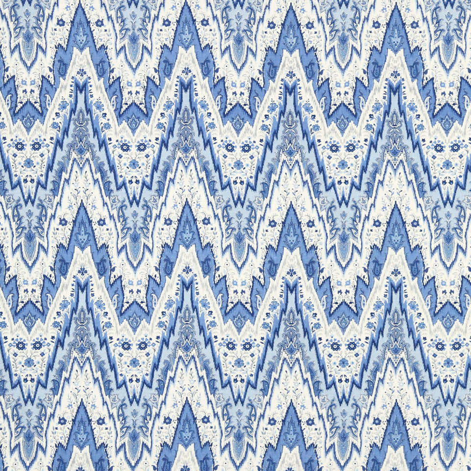 WILLIAMSBURG CLASSICS COLLECTION II Shurcliff Fabric - Cobalt Oxide