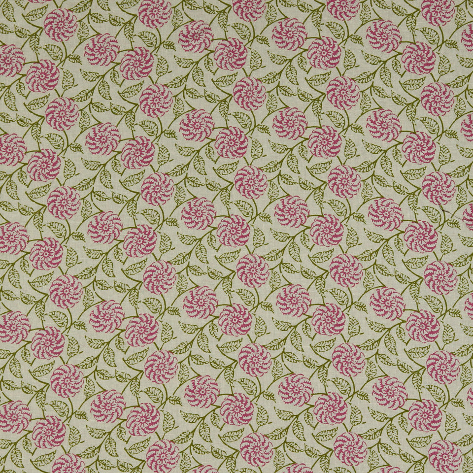 WILLIAMSBURG CLASSICS COLLECTION II Queens Creek Fabric - Blossom