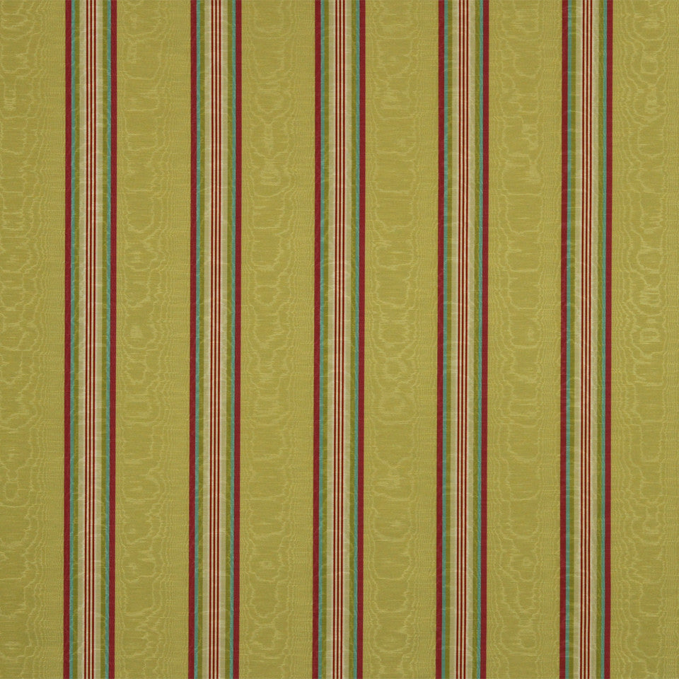 WILLIAMSBURG CLASSICS COLLECTION II Essex Stripe Fabric - Azalea